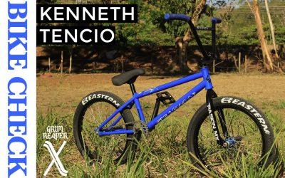 bike check kenneth tencio-blue grim